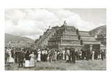 Ceremony Re-Enactment at Teotihuacan Prints