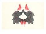 Rorschach Test Pattern Affiches