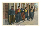 Old Dutch Fishermen, Volendam Prints