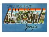 Greetings from Augusta, Georgia Prints