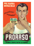 Ad for Italian Shaving Lotion Print