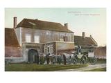 Chateau Near Waterloo Battlefield Prints