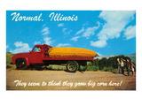 Gigantic Corn, Normal, Illinois Posters