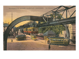 Wuppertal Schwebebahn Wohwinkel, Germany Prints