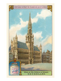 City Hall in Brussels, Belgium Posters