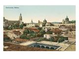 Overview of Cuernavaca, Mexico Prints