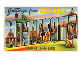 Greetings from Northfield, Minnesota Poster