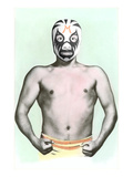 Mexican Wrestler in Mask Prints