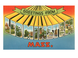 Greetings from Leominster, Mass. Prints
