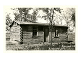 Roosevelt Cabin, Bismarck, North Dakota Prints