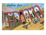Greetings from Noblesville, Indiana Prints
