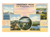 Lake Winnipesaukee, New Hampshire Prints
