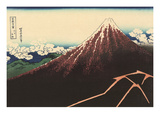 Mt. Fuji, Japanese Woodcut Prints