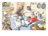 Cats in the Kitchen Prints