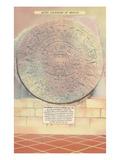 Aztec Calendar Stone Poster