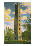 Shot Tower, Dubuque, Iowa Prints
