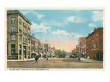 Main Street, Henderson, Kentucky Poster