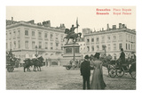 Royal Palace, Brussels, Belgium Print