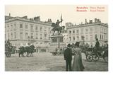 Royal Palace, Brussels, Belgium Print