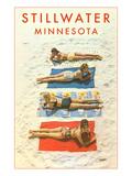 Bathing Beauties, Stillwater, Minnesota Prints