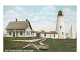 Wood Island Lighthouse, Old Orchard, Maine Poster