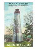 Mark Twain Lighthouse, Hannibal, Missouri Poster