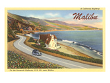 Roosevelt Highway, Malibu, California Posters