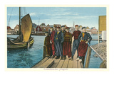 Dutch Teens, Volendam, Holland Prints