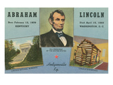 Lincoln Birthplace, Hodgenville, Kentucky Posters