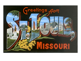 Greetings from St. Louis, Missouri Art