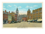 Central Square, Dover, New Hampshire Poster
