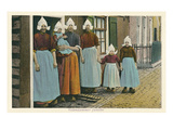 Dutch Family, Volendam, Holland Prints
