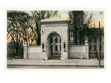 Memorial Arch, Concord, New Hampshire Prints
