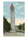 Water Tower, Ft. Sheridan, Illinois Prints