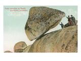 Balanced Rock, Tandil, Argentina Posters