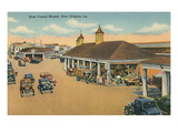 New French Market, New Orleans, Louisiana Prints