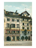 Old Houses in Lucerne, Swithzerland Prints