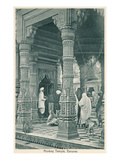Monkey Temple, Benares, India Prints
