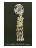 Prehispanic Gold Ornament, Oaxaca, Mexico Posters