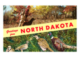 Greetings from North Dakota Prints