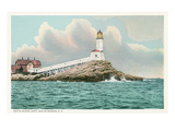 White Island Lighthouse, New Hampshire Prints