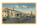 San Ysidro Border Station, California Poster
