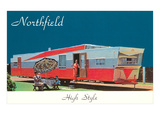 Trailer Life, Northfield, Minnesota Print