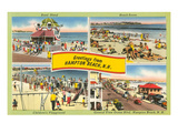 Greetings from Hampton Beach, New Hampshire Print