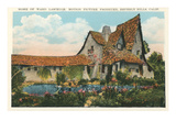 Home of Ward Lascelle, Movie Producer, Beverly Hills, California Láminas