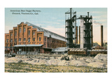 Sugar Beet Factory, Oxnard, California Posters