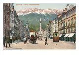 Maria Theresienstrasse, Innsbruck, Austria Poster