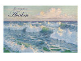 Greetings from Avalon, New Jersey, Seascape Prints