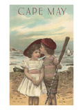 Couple of Kids, Cape May, New Jersey Prints