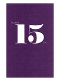 Happy 15th Art